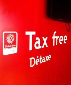 VAT refund , tax free shopping
