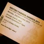 British fashion awards 2013, London, Crefovi, fashion law