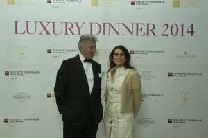 Luxury dinner at Claridge's