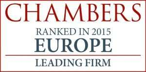 Chambers, Ranked in 2015, London fashion law firm Crefovi