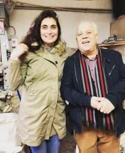 Claude Aiello, ceramist extraordinaire, Vallauris, Crefovi